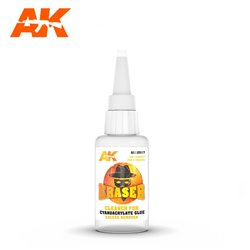 AK INTERACTIVE AK12017 ERASER – CLEANER FOR CYANOCRYLATE GLUE EXCESS REMOVER
