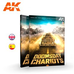 AK INTERACTIVE AK258 DOOMSDAY CHARIOTS – MODELING POST-APOCALYPTIC VEHICLES