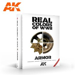 AK INTERACTIVE AK299 REAL COLORS OF WWII ARMOR – NEW 2ND EXTENDED & UPDATED VERSION