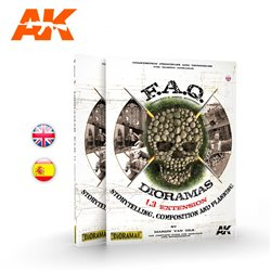 AK INTERACTIVE AK8150 DIORAMAS F.A.Q. 1.3 EXTENSION – STORYTELLING, COMPOSITION AND PLANNING