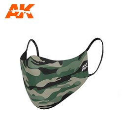AK INTERACTIVE AK9098 CLASSIC CAMOUFLAGE FACE MASK 01