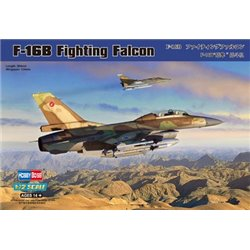 HOBBY BOSS 80273 1/72 General Dynamics F-16B Fighting Falcon