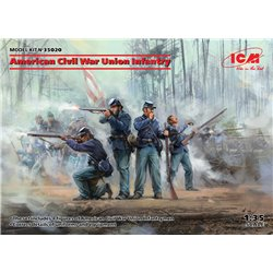 ICM 35020 1/35 American Civil War Union Infantry