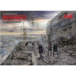 ICM 35903 1/35 Chernobyl3. Rubble cleaners (5 figures)