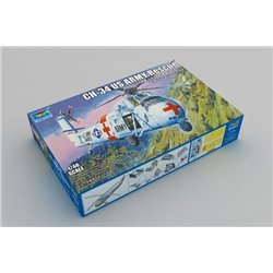 TRUMPETER 02883 1/48 CH-34 US ARMY Rescue - Re-Edition