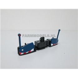 FARMMODELS 20780 1/32 NH BLUE AGRI-BUMPER, réglable en largeur