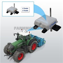 FARMMODELS 21242 1/32 Pilote automatique universel Trimble (NH) GPS avec jeu d'autocollants