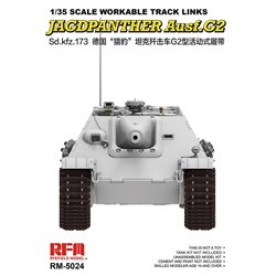 RYE FIELD MODEL RM-5024 1/35 Workable Track Links for Jagdpanther Ausf.G2