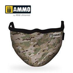 AMMO BY MIG A.MIG-8068 Multicam AMMO Face Mask