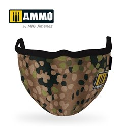 AMMO BY MIG A.MIG-8067 Erbsenmuster AMMO Face Mask