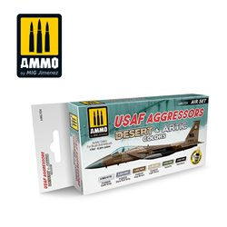 AMMO BY MIG A.MIG-7234 USAF AGGRESSORS DESERT & ARTIC COLORS SET