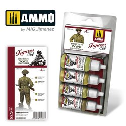 AMMO BY MIG A.MIG-7033 BRITISH UNIFORMS WWII SET
