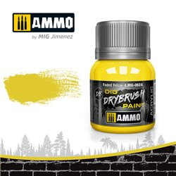 AMMO BY MIG A.MIG-0624 DRYBRUSH Faded Yellow 40 ml