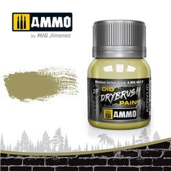 AMMO BY MIG A.MIG-0617 DRYBRUSH Medium German Yellow 40 ml