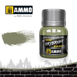 AMMO BY MIG A.MIG-0608 DRYBRUSH Light Olive Green 40 ml