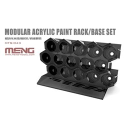 MENG MTS-043 Modular Acrylic Paint Rack/Base Set