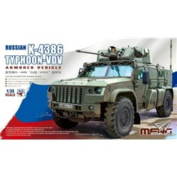 MENG VS-014 1/35 Russian K-4386 Typhoon-VDV Armored Vehicle