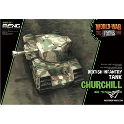 MENG WWT-017 British Infantry Tank Churchill (CARTOON MODEL)