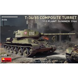 MINIART 35306 1/35 T-34-85 Composite Turret. 112 Plant. Summer 1944