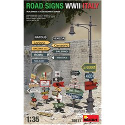 MINIART 35611 1/35 Road Signs WWII Italy