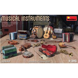 MINIART 35622 1/35 Musical Instruments
