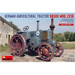 MINIART 38024 1/35 German Agricultural Tractor D8500 Mod. 1938