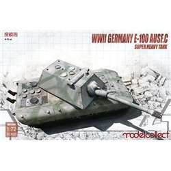 MODELCOLLECT UA72081 1/72 E-100 Super Heavy Tank with Krupp Turret