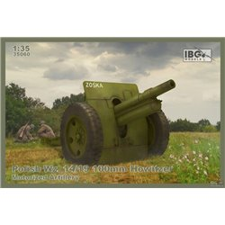 IBG MODELS 35060 1/35 Polish Wz. 14/19 100mm Howitzer