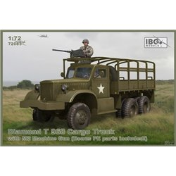IBG MODELS 72083 1/72 Diamond T 968 Cargo Truck with M2