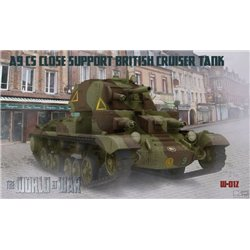 IBG MODELS WAW012 1/72 A9 CS Close Support British Cruiser Tank