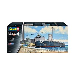 REVELL 05169 1/144 US Navy Landing Ship Medium (Bof
