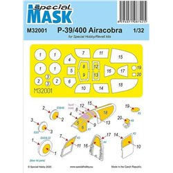 SPECIAL HOBBY M32001 1/32 P-39 Airacobra Mask