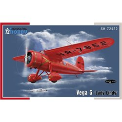 SPECIAL HOBBY SH72422 1/72 Vega 5 'Lady Lindy'