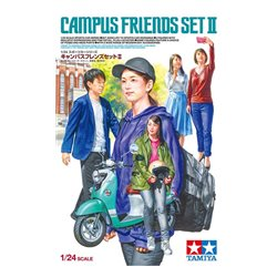 TAMIYA 24356 1/24 Campus Friends Set 2