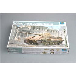 TRUMPETER 01536 1/35 German E-50 (50-75 tons)/Standardpanzer
