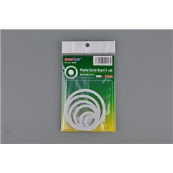 TRUMPETER 09948 Plastic Circle Board C-set-0,3 mm