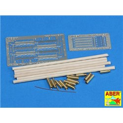 ABER 16025 1/16 Barrel cleaning rods with brackets for Tiger I -early/late for Various