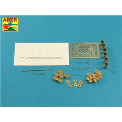 ABER 16026 1/16 Smoke Discharges for German Tanks like, Tiger I, Panther D, Puma, Luchs, Stug IIIG for Various