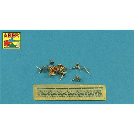 ABER 16102 1/16 7,92 mm Amunition for German MG34 Machine Gun x 25 pcs. for Universal set