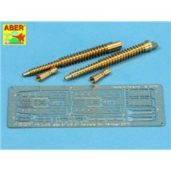ABER 16 L-06 1/16 Set of two barrels ZB 37 for Panzer 38(t) for Panda/uniwersal set