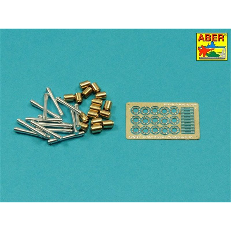 12 pcs. FOR SPARE TRACKS for GERMAN PANTHER 1//16 ABER 16170A METAL TRACK PINS