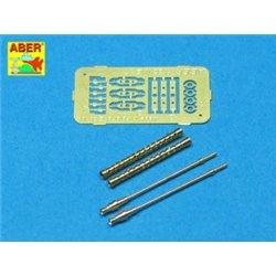 ABER A32 002 1/32 Set of 2 barrels for German 7,92 mm MG 17 aircraft machine guns
