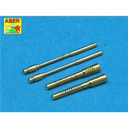 ABER A32 006 1/32 Set of 2 barrels for German 13mm aircraft machine guns MG 131 (middle type)