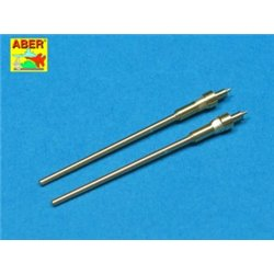 ABER A32 007 1/32 Set of 2 barrels for German aircraft 20mm machine guns MG 151/20