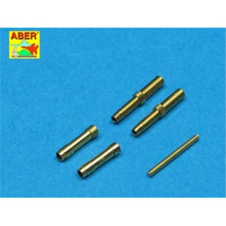 ABER A32 010 1/32 Set of 2 barrels for German aircraft 30mm machine cannons MK 108 with blast tube