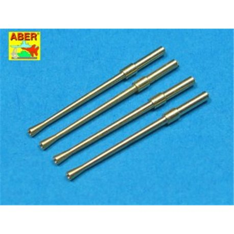 ABER A32 014 1/32 Set of 4 barrels for Japanese 20 mm Type 99 aircraft machine cannons