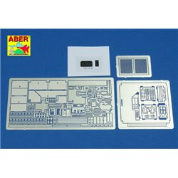 ABER 35152 1/35 US Tank Destroyer M-10 vol. 2- INTERIOR for Academy