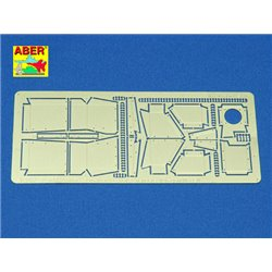 ABER 35168 1/35 Sd.Kfz.251/1 Ausf. D- Vol.2-add. Set- Fenders for Dragon