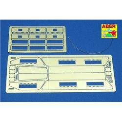 ABER 35169 1/35 Sd.Kfz.251/1 Ausf. D- Vol.3-add.set-Stowage bins for Dragon
