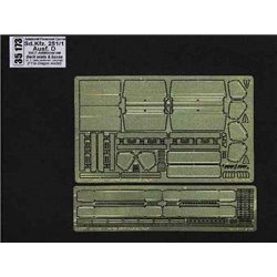 ABER 35173 1/35 Sd.Kfz.251/1 Ausf.D-vol.7-add.set-back seats&boxes for Dragon